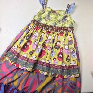 Matilda Jane Delaney Russian doll apron dress 10